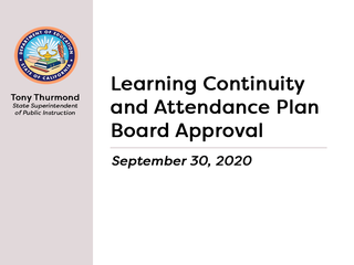 Public Meeting: LCP Board Approval
